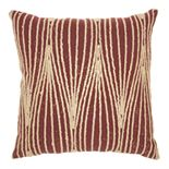 Mina Victory Life Styles Wavy Lines Throw Pillow