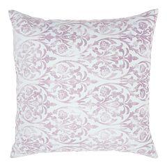 Mina Victory Life Styles Damask Throw Pillow