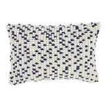 Mina Victory Loop Dots Black Throw Pillow