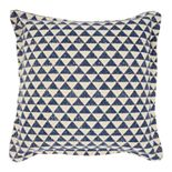 Mina Victory Printed Triangles Throw Pillow