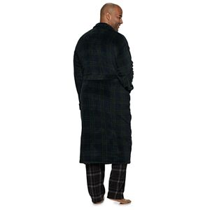 Big & Tall Croft & Barrow® Printed Plush Robe