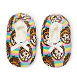 Disney's Fancy Nancy Toddler Girl Fuzzy Babba Slipper Socks