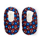 Toddler Boy Marvel Spider-Man Fuzzy Babba Slipper Socks