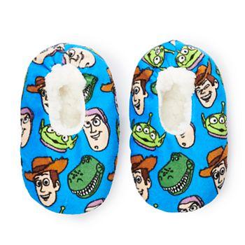 Disney / Pixar's Toy Story Toddler Boy Fuzzy Babba Slipper Socks