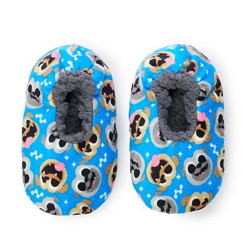 Toddler Boy Puppy Dog Pals Fuzzy Babba Slipper Socks