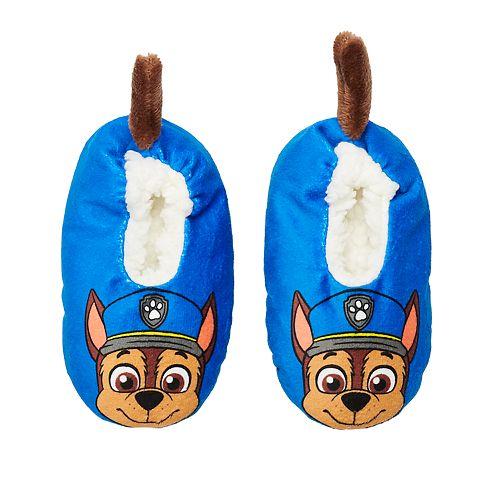 Toddler Boy Paw Patrol Chase Fuzzy Babba Slipper Socks