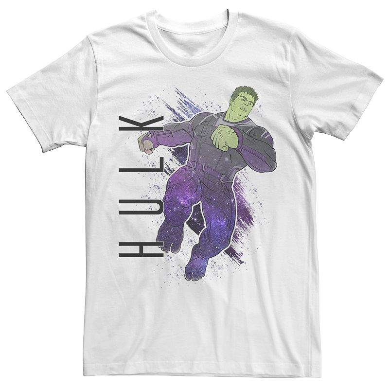 Mens Teen Guys Licensed Character Avengers Hulk Painted Mens Tee. Men's. Size: Small. White