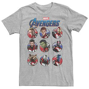 Men's Marvel Avengers Heroic Group Tee