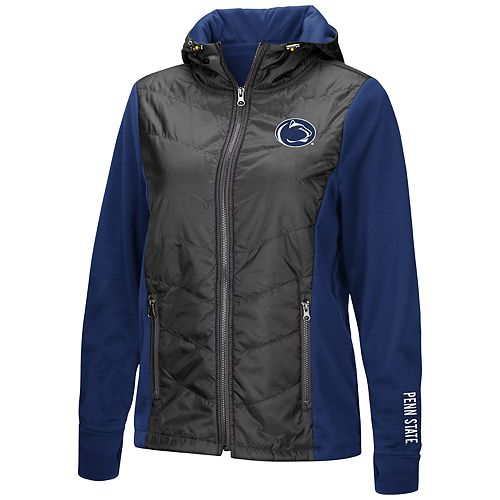 Women's NCAA Penn State Nittany Lions Long-Sleeved Full Zip Jacket
