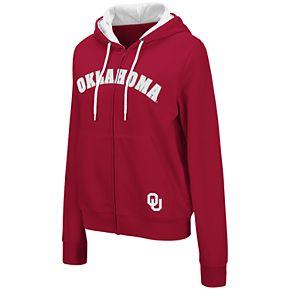 Women's NCAA Oklahoma Sooners Squad Full Zip Jacket
