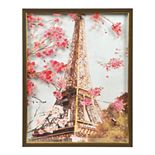 New View Gifts Layered Printed Glass Eiffel Tower