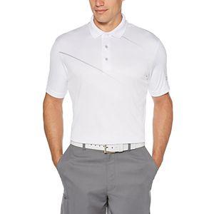Men's Jack Nicklaus Asymmetrical Herringbone Textured Golf Polo