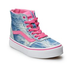 ddb57b440a Vans Ward Hi Zip Kids' Skate Shoes