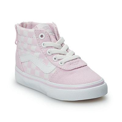 Vans Ward Hi Zip Toddler Girls' Skate Shoes