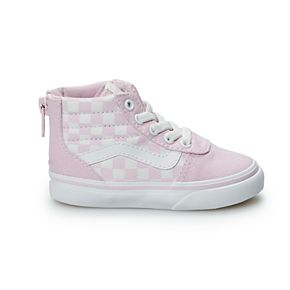 Vans Ward Hi Zip Toddler Girls' Skate Shoes