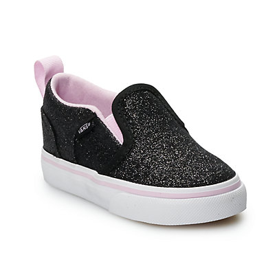 Vans Asher V Toddler Girls' Skate Shoes