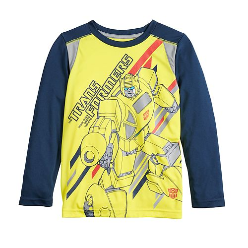 Boys 4-12 Jumping Beans® Transformers Active Long-Sleeve Tee