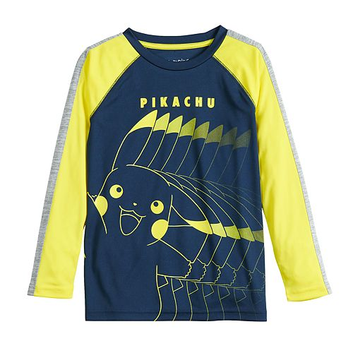 Boys 4-12 Jumping Beans® Pokemon Pikachu Active Long-Sleeve Tee