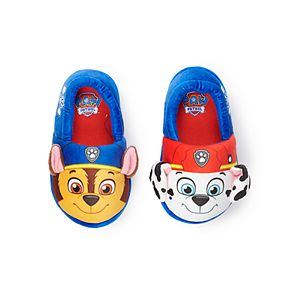 Paw Patrol Chase & Marshall Toddler Boy's Slippers