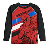 Boys 4-12 Jumping Beans® Spider-Man Long-Sleeve Active Tee