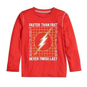 Boys 4-12 Jumping Beans Flash Faster Than Fast Active Long-Sleeve Tee