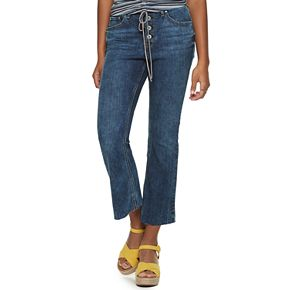 Juniors' American Rag High-Rise Flare Jeans