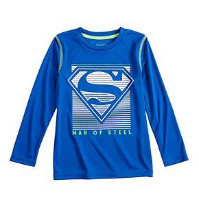 Boys 4-12 Jumping Beans Superman Active Long-Sleeve Tee