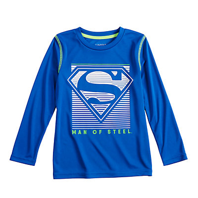 Boys 4-12 Jumping Beans® Superman Long-Sleeve Graphic Tee