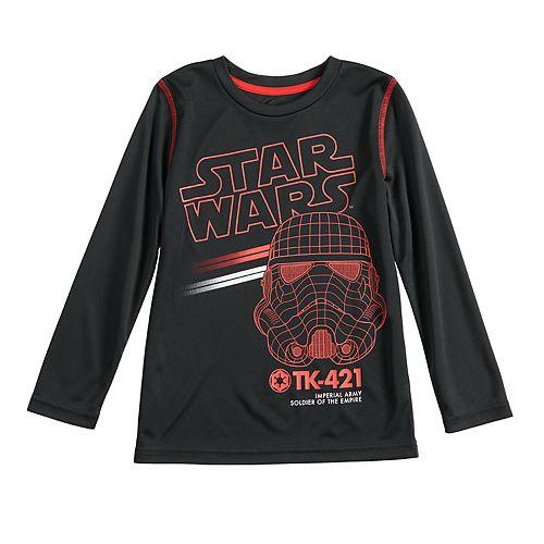 Boys 4-12 Jumping Beans® Star Wars Storm Trooper Active Long-Sleeve Tee