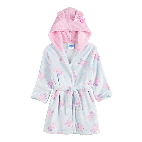 Toddler Girl 2T-5T Peppa Pig Robe