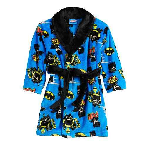 Toddler Boy 2T-5T Batman Robe