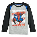 Boys 4-12 Jumping Beans® Spider-Man Active Long-Sleeve Tee