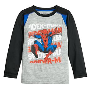 Boys 4-12 Jumping Beans Spider-Man Active Long-Sleeve Tee