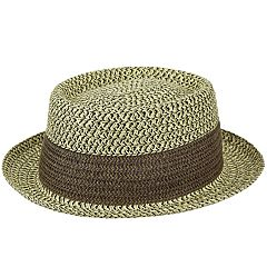 91ed575101c3eb Men's Country Gentleman Baldwin Braided Telescope Crown Hat
