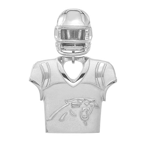 official photos a6cd1 ba506 Women's NFL LogoArt Sterling Silver Carolina Panthers Jersey ...