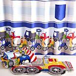 Dream Factory Trains & Trucks 4-piece Bath Set