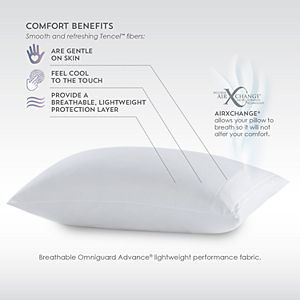 Pure Care Tencel Cooling Pillow Protector