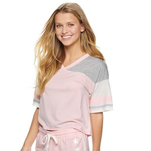 Juniors' SO® Sleep Tee