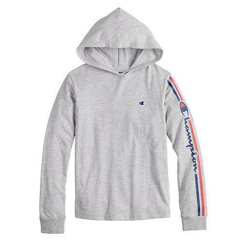Boys 8-20 Champion Jersey Graphic Hooded Tee