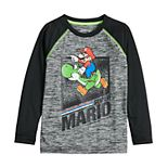 Boys 4-12 Jumping Beans® Mario and Yoshi Graphic Long-Sleeve Tee