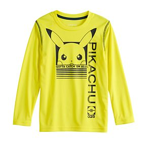 Boys 4-12 Jumping Beans® Pikachu Long-Sleeve Tee