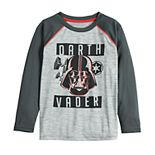 Boys 4-12 Jumping Beans® Star Wars Darth Vader Raglan Tee