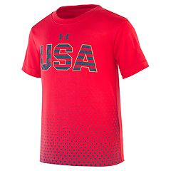 Toddler Boy Under Armour Americana 'USA' Graphic Tee