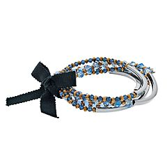 Simply Vera Vera Wang Beaded Stretch Bracelet (Set of 5)