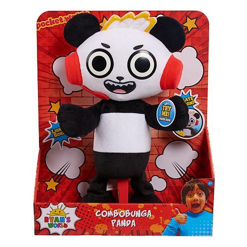Ryan's World Combo Panda Feature Plush Toy