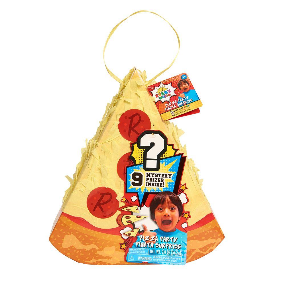 Ryan's World Piñata Pizza