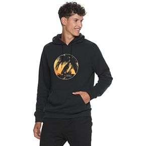 Men's Caliville Tropical Graphic Pullover Hoodie
