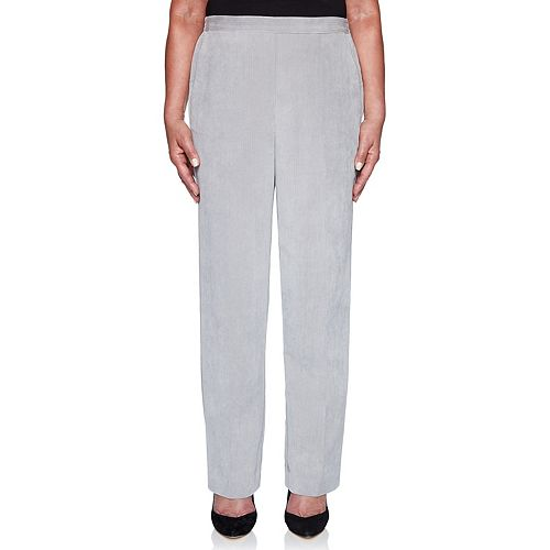 Women's Alfred Dunner Pull-On Corduroy Pants