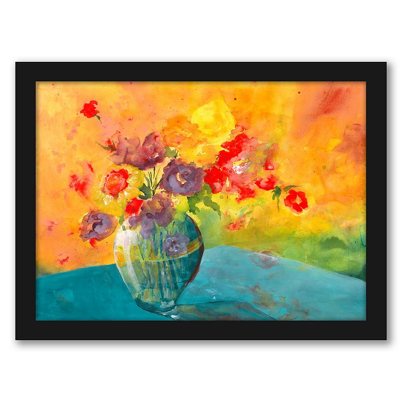 "Americanflat ""Large Vase"" Framed Wall Art, 15X12"
