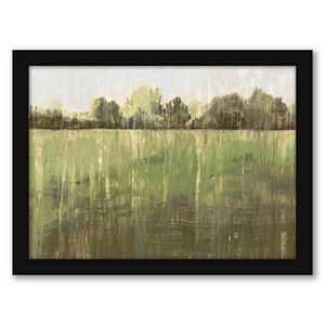 "Americanflat ""Green Field LII"" Framed Wall Art"